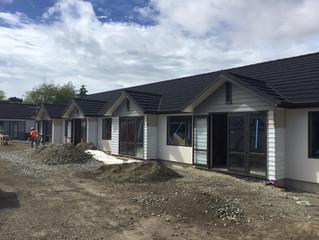 New development almost complete