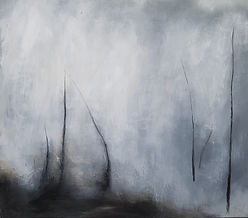 Jenny Fox, abstract painting, oil painting, abstract art, abstract expressionism, abstract landscape. dreaming of the last mile home.