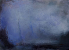 Jenny Fox, abstract painting, abstract oil painting, oil painting, abstract expressionist, abstract landscape, purple painting. And this moment keeps slipping away.