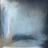 Jenny Fox, abstract oil painting, abstract painting, oil painting, abstract landscape, abstract art, abstract expressionism. After time has passed away.
