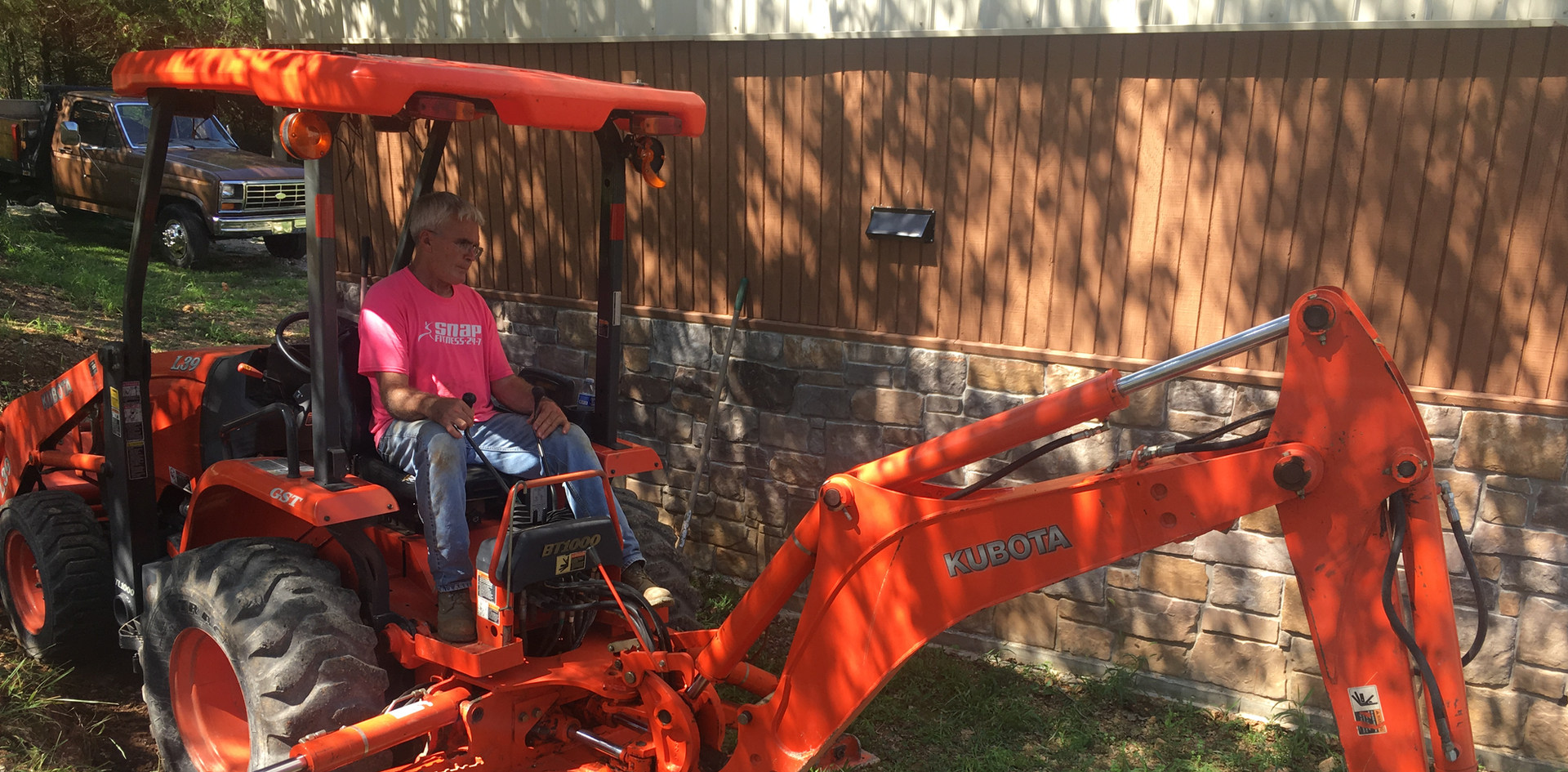 Utility Line Trenching