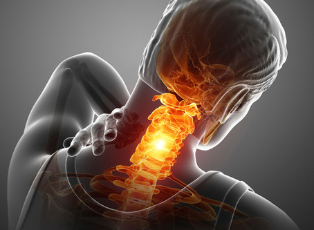 Most common causes of neck pain