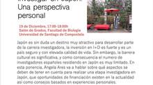 """Seminario """"Investigar en Japón: Una perspectiva personal"""""""