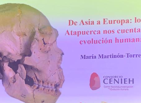 """""""De Asia a Europa: lo que Atapuerca nos cuenta de la evolución humana"""""""