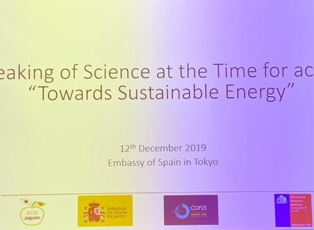 Hablando de Ciencia en el COP25 / International experiences for decarbonization in the energy transi