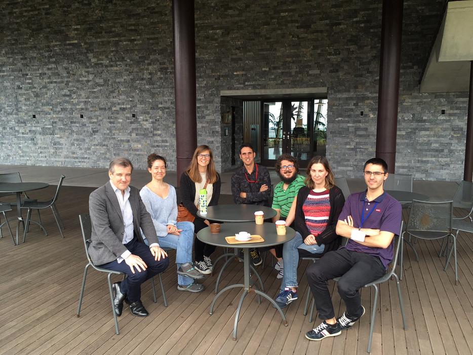 Encuentro con el Consejero Cultural y Científico de la Embajada de España en Japón con los científic