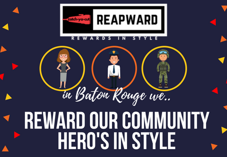 Catchyacut has chosen to  reward baton rouge hero's in Style.