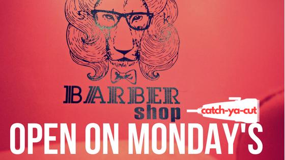 CatchYaCut Barber shop near me open on Monday