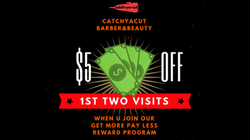 CatchYaCut $5 off 1st two visits
