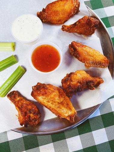 Sweet Chili Jumbo Wings.
