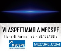 28/03/2019 Vmech è in fiera a Parma - Pad.8 Stand B19