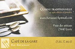 Café de la Gare - Liesle