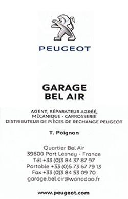 Garage bel-air Port Lesney