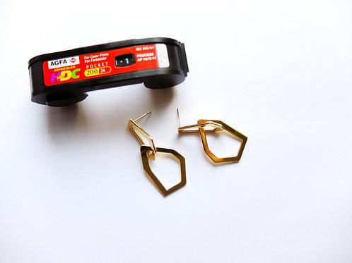 Glänzen Goldene Ringe