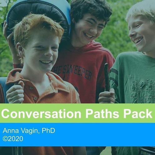 Conversation Paths PowerPoint