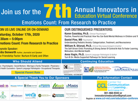 7th Annual Innovators in Education Conference!