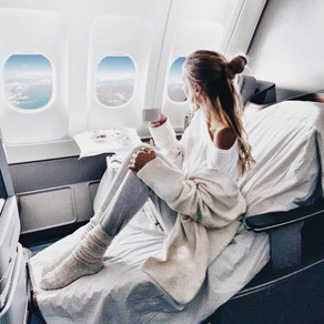 Girl on the Plane (a poem)