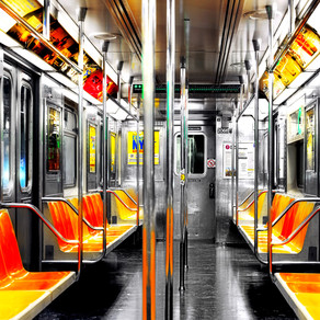 THE ART GALLERY ON THE SUBWAY (a poem)