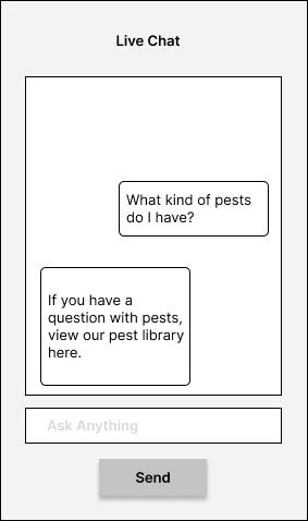 Live Chat Prototype