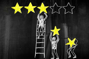 five-stars-concept,customer-satisfaction