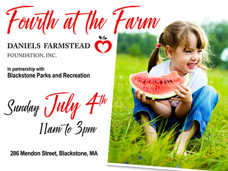 Fourth at the Farm this Sunday