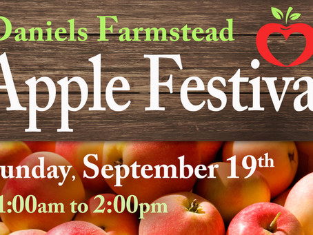 5th Annual Apple Festival - Sunday, September 19th