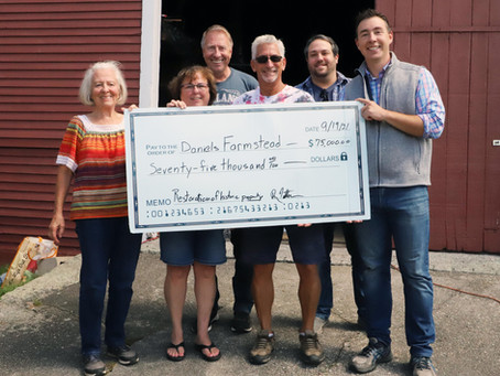 Daniels Farmstead Receives Funds to help with Cider Press Restoration