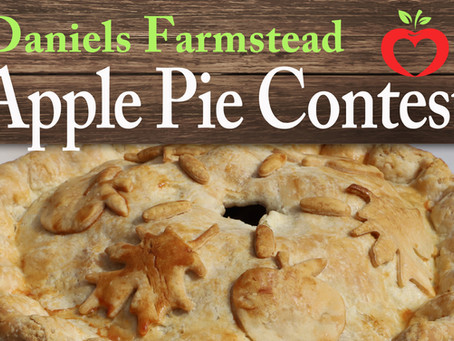 Apple Pie Contest Entry Forms - 5th annual Apple Festival Sunday, September 19th