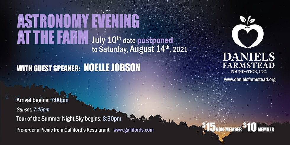 Astronomy Evening at the Farm