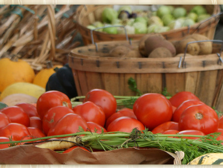 Sunday, October 3 - Our Final Farmers Market of the Season