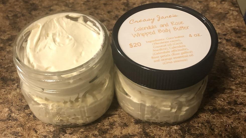 Calendula Whipped Body Butter