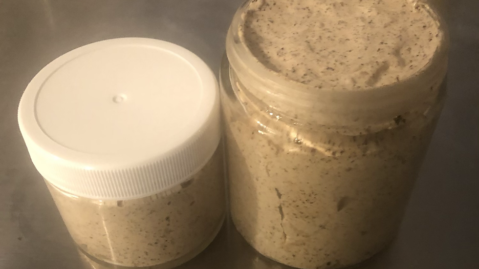 Brown Sugar and Coffee Foaming Scrub