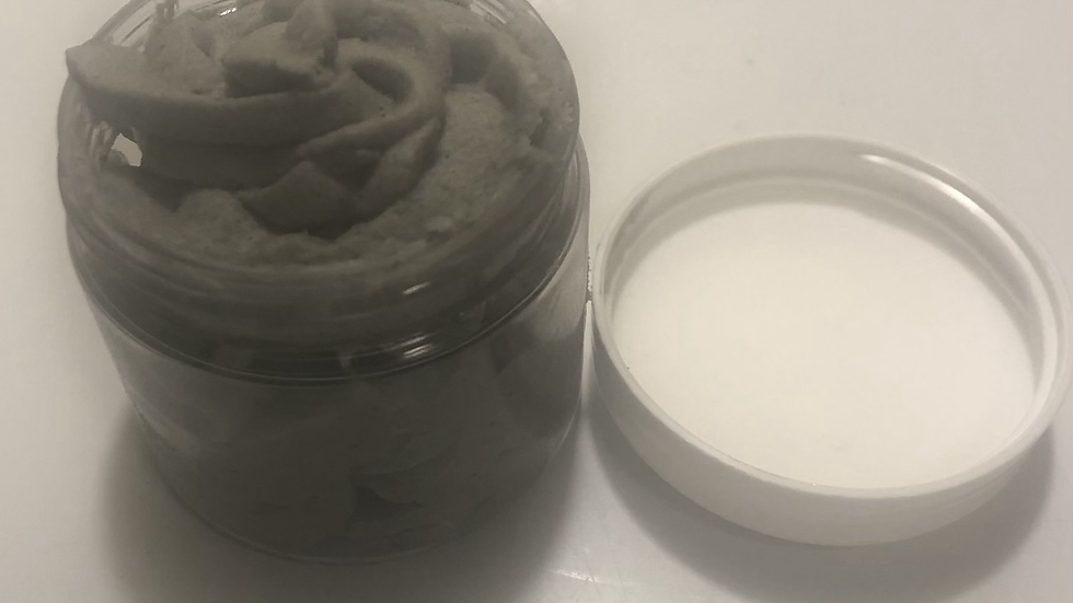 Activated Charcoal and Lemongrass Facial Scrub