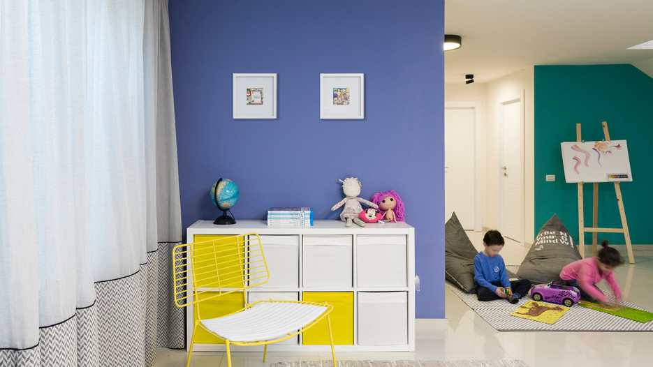 עיצוב פנים לחדרי ילדים ונוער