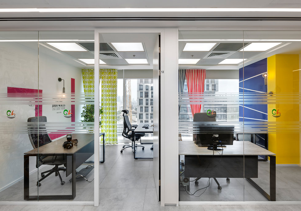 עיצוב משרדים יוקרתי