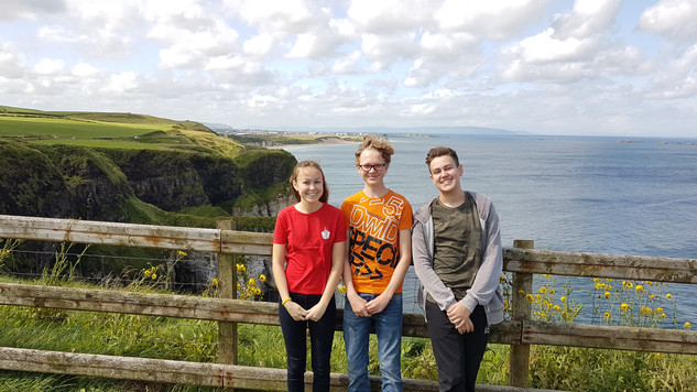 Nothern Ireland with McCurdies