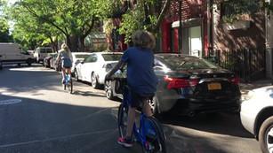 Bike ride in New York 2018