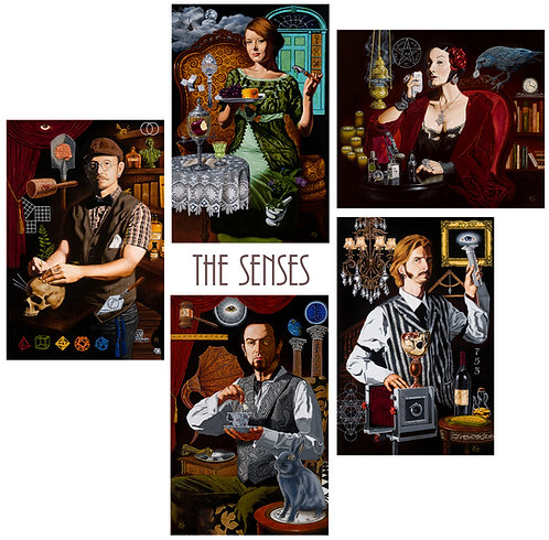 The Senses 5 Card Set