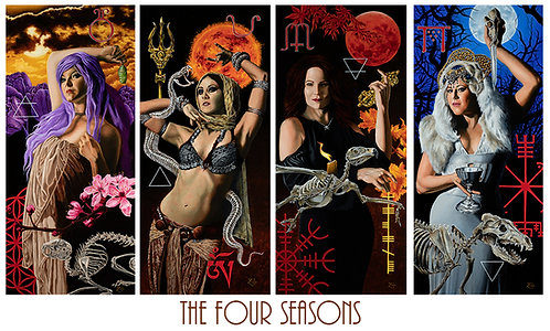 The Seasons 4 Card Set