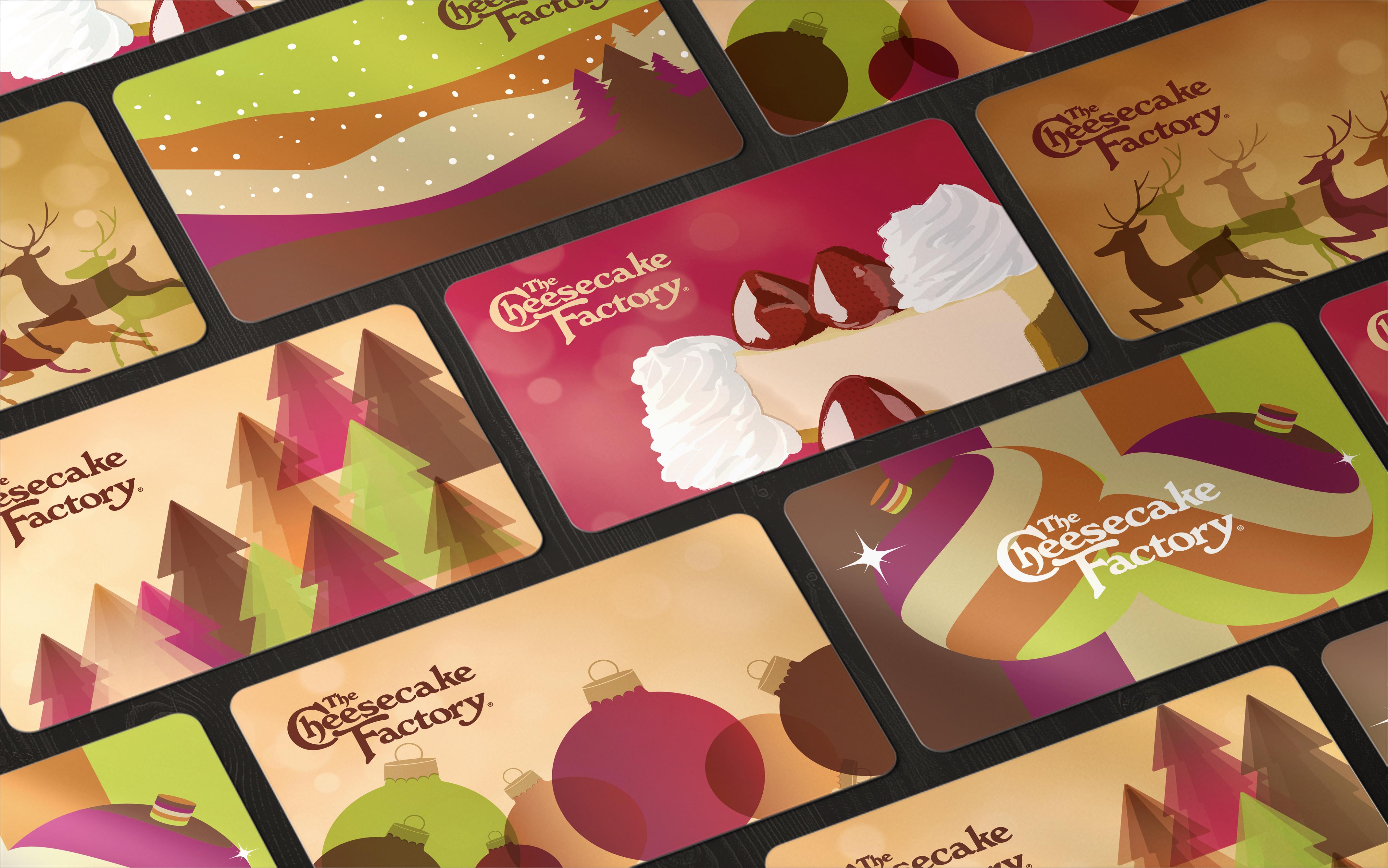 Holiday cards mockup