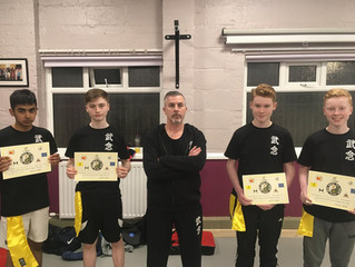 More Students pass Yellow Sash grading