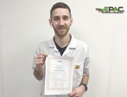 EPAC-medewerkers behalen IPC-certificaat