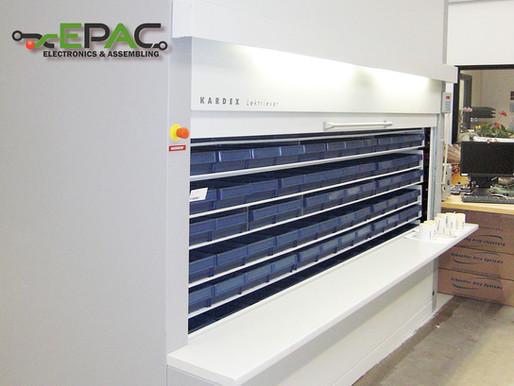 EPAC breidt magazijn uit met tweede Kardex paternosterkast