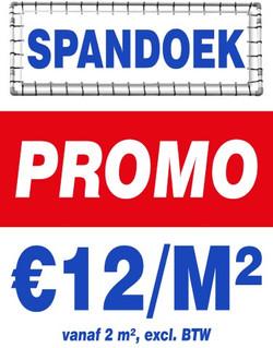 spandoek promo