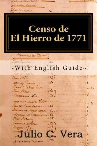 Censo de El Hierro de 1757: With English Guide by Julio C. Vera