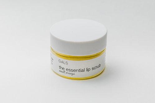 Sweet Orange Xylitol Lip Scrub