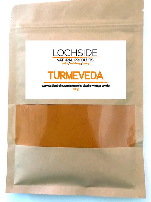 High Strength Turmeric Curcurmin and Piperine Black Pepper Powder with Ginger