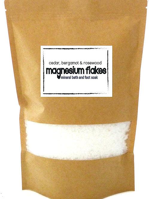 Bergamot, Cedar & Rosewood Magnesium Mineral Bath & Foot Soak
