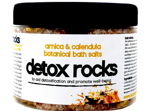 DETOX ROCKS SEAWEED & ARNICA & CALENDULA BATH SALT SOAK