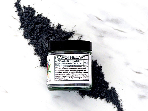 Detoxifying Charcoal Face Mask Powder